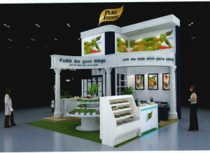 Booth Purefood @ Thaifex 2016