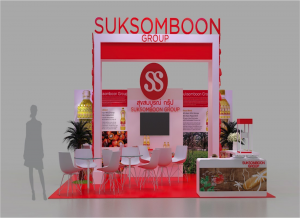 Booth Suksomboon @ Thaifex 2016